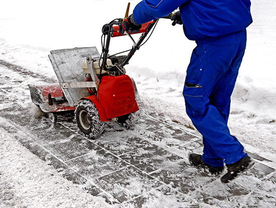 YPMG Maintenance snow blowing